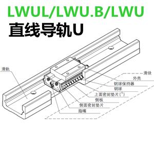 IKO直线导轨LWUL/LWU.B/LWU系列
