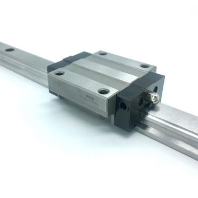 原装进口高稳定带钢珠保持链型法兰标准WON直线导轨H-S系列H15SF
