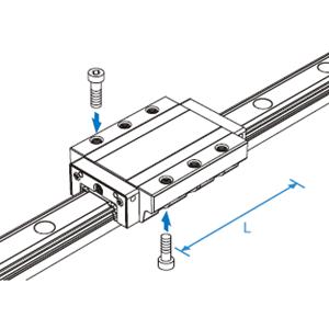 日本进口低组装直线滑轨滑块SVR35LC