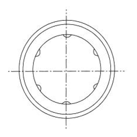 YTP直线轴承结构图